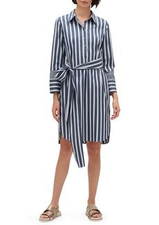 Lafayette 148 New York Fabiola Twilight Stripe Shirtdress