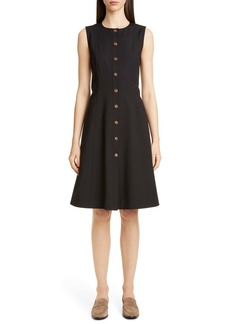 Lafayette 148 New York Fahey Sleeveless A-Line Dress