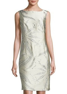 Lafayette 148 New York Faith Jacquard Sheath Dress