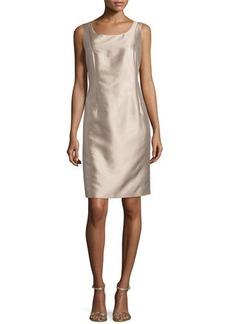 Lafayette 148 New York Faith Scoop-Neck Sleeveless Dress