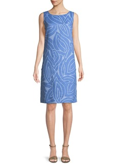 Lafayette 148 Farah Sleeveless Linen Dress