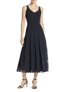 Lafayette 148 New York Faryn Lace-Inset Dress