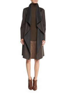 Lafayette 148 New York Felice Reversible Cashmere Coat