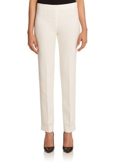 Lafayette 148 Finesse Crepe Bleecker Pant