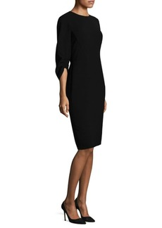 Lafayette 148 New York Finesse Crepe Erland Dress