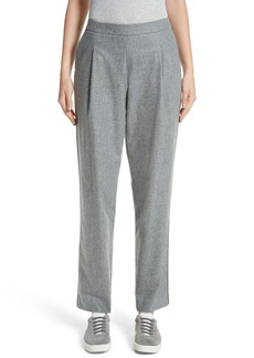 Lafayette 148 New York Finite Flannel Soho Track Pants