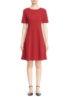 Lafayette 148 New York Fit & Flare Dress (Regular & Petite)