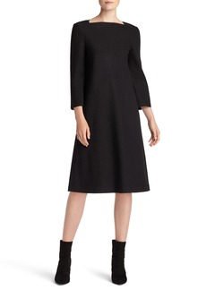 Lafayette 148 New York Fit & Flare Punto Milano Dress