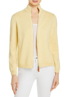 Lafayette 148 New York Fitted Bomber Jacket