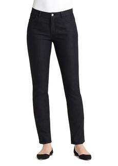 Lafayette 148 New York Five Pocket Curvy Jeans