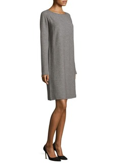Lafayette 148 New York Flannel Rib Dress