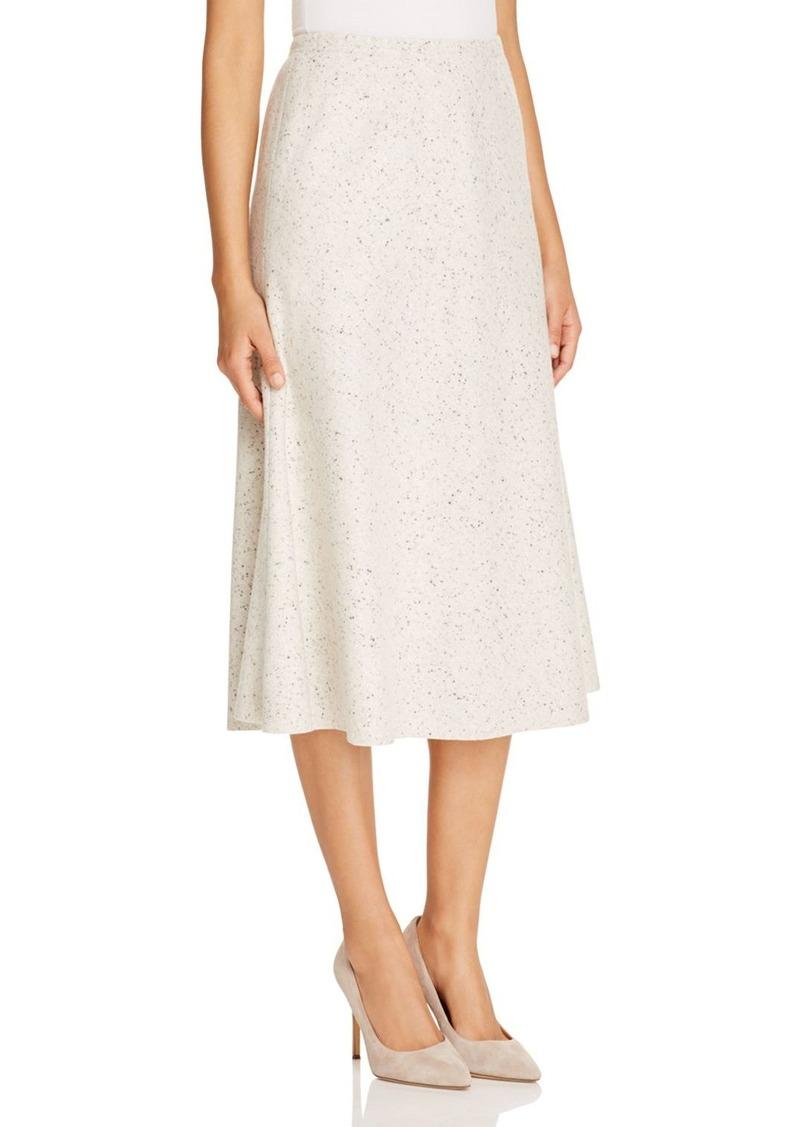 Lafayette 148 New York Flared Wool Midi Skirt