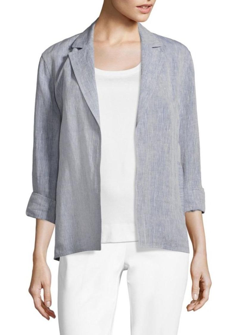 Lafayette 148 New York Flora Linen Jacket