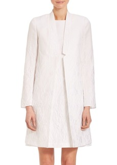 Lafayette 148 New York Floral Jacquard Thea Jacket