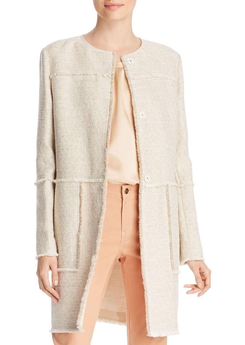 Lafayette 148 New York Francine Fringe-Trim Jacket