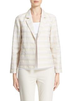 Lafayette 148 New York Frankie Stripe Jacquard Jacket