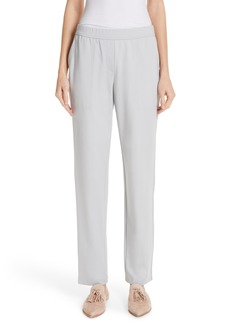 Lafayette 148 New York Fulton Elastic Waist Pants