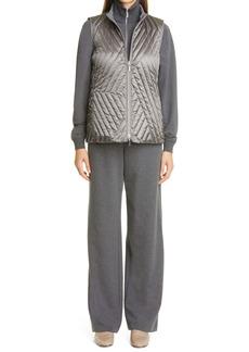 Lafayette 148 New York Fulton Finite Italian Flannel Pants