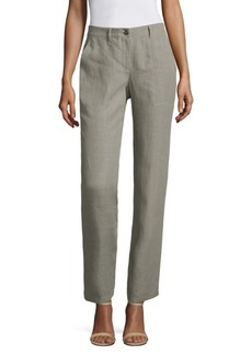 Lafayette 148 Fulton Linen Pants