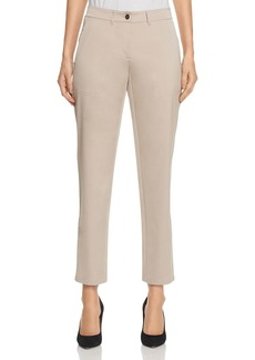 Lafayette 148 New York Fulton Slim Sateen Pants