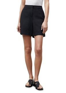 Lafayette 148 New York Fulton Wide Leg Cotton Shorts
