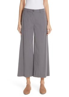 Lafayette 148 New York Fulton Wide Leg Crop Pants
