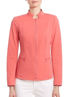 Lafayette 148 New York Fundamental Bi Stretch Mimi Jacket