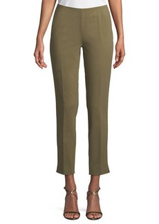 Lafayette 148 New York Fundamental Bi-Stretch Stanton Cropped Pants