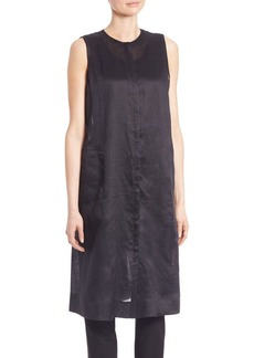 Lafayette 148 New York Gemma Cloth Lindy Vest