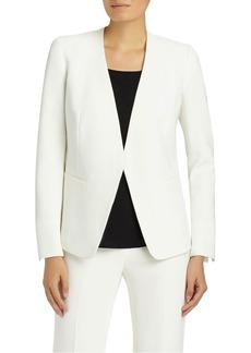 Lafayette 148 New York Genevieve Finesse Crepe Jacket