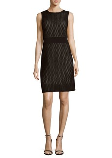 Lafayette 148 Geometric Sheath Dress