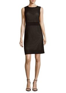 Lafayette 148 Geometric Sheath Dress
