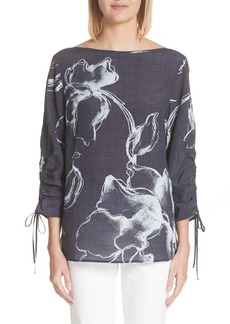 Lafayette 148 New York Georgina Desert Bloom Blouse
