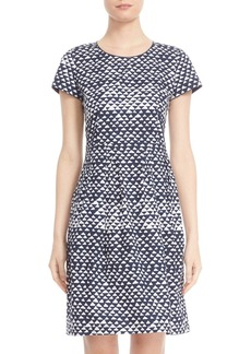 Lafayette 148 New York 'Gina' Pleated Dress (Regular & Petite)