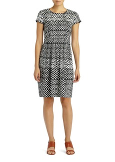 Lafayette 148 New York 'Gina' Pleated Dress (Regular & Petite)