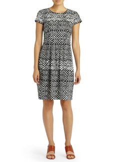 Lafayette 148 Gina Printed Fit-&-Flare Dress