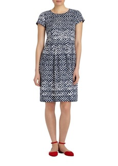 Lafayette 148 Gina Printed Stretch Dress