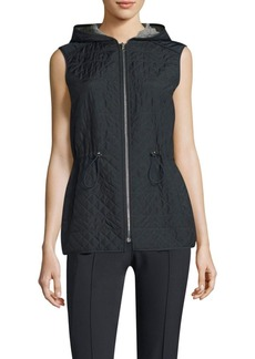 Ginny Reversible Hooded Vest