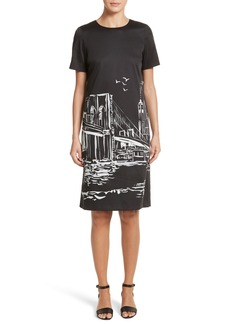 Lafayette 148 New York Giuliana Print Shift Dress