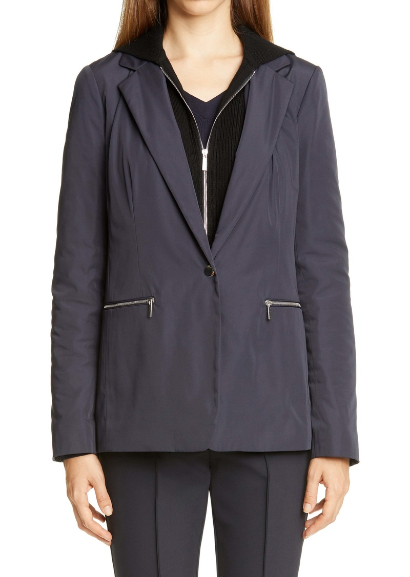 Lafayette 148 New York Grady Removable Dickey Jacket