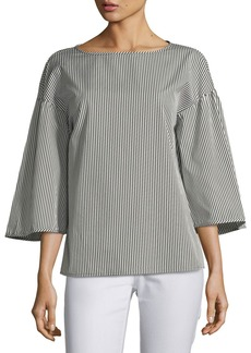 Gwendolyn Chatham Stripe Blouse