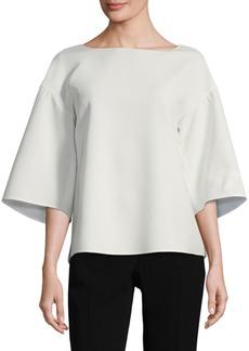 Gwendolyn Kimono-Sleeve Blouse