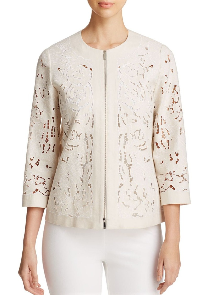 Lafayette 148 New York Hadara Embroidered Jacket