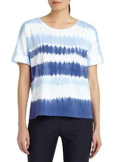 Lafayette 148 New York Hand Tie-Dyed Tee