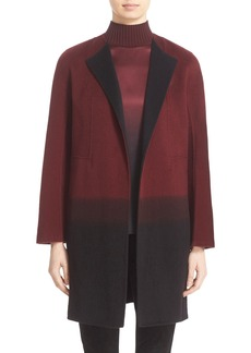 Lafayette 148 New York 'Hayes' Ombré Cashmere Coat (Nordstrom Exclusive)