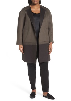 Lafayette 148 New York Hayes Wool & Cashmere Coat (Plus Size)
