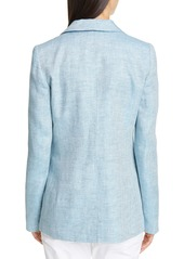 Lafayette 148 New York Heather Linen Jacket
