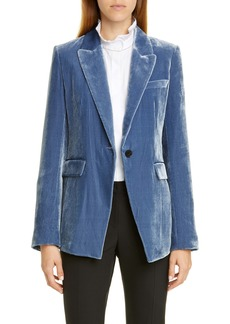 Lafayette 148 New York Heather Velvet Jacket