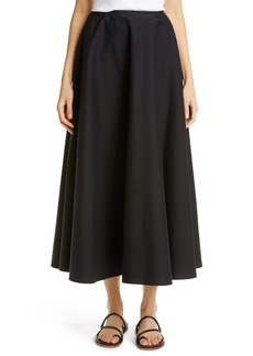 Lafayette 148 New York Helena Stretch Cotton Blend Skirt