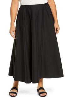 Lafayette 148 New York Helena Stretch Cotton Blend Skirt (Plus Size)